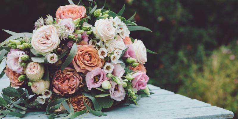 Isle of Wight wedding flowers